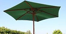 Olive Grove Garten-Sonnenschirm, Breite 2,5m, in Grün