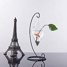 Olivenform Glas Hängen Blumenvase Pflanze Flasche Mit Nach Hause Dekorpflanzer Wand
