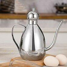Olivenöl kann Essig Spender, Geschirr Edelstahl
