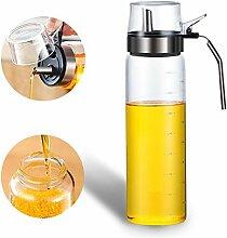 Olivenöl Spender Flaschen, Glas Öl und Essig
