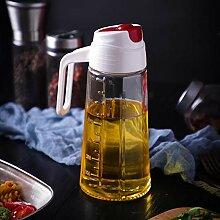Olivenöl Spender Glas, Bleifrei Tropffrei Öl