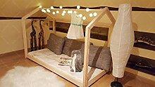 Oliveo Hausbett, Kinderhaus, Bett für Kinder,