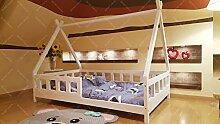 Oliveo Kinder Bett Tipi, Kinderhaus, Indianer