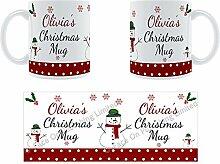 Olivia'Weihnachten Becher, Tasse, Keramik,