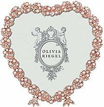 Olivia Riegel Contessa Bilderrahmen mit Herzmotiv,
