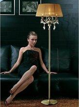Olivia Stehleuchte mit Bronzeschirm 3 Glühbirnen