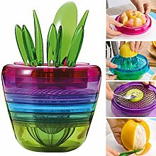 OLizee Kreative Obst Pflanzen Multi Kitchen Tool