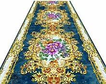 OLLY- Läufer Teppiche Flur Blumen Insgesamt