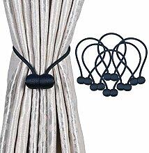 OLRIKE Magnetische Vorhang-Raffhalter, 48,3 cm,