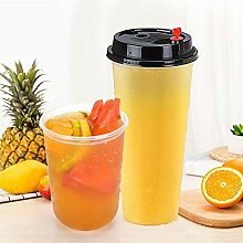OLT- Disposable cup Einweg-Plastik-Eiskaffee