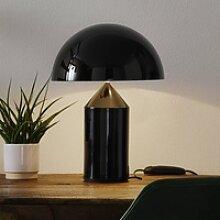 Oluce Atollo - edle Designer-Tischleuchte, schwarz
