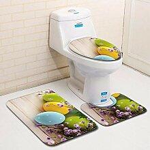 Olydmsky Easter Egg Toilette dreiteilige Boden