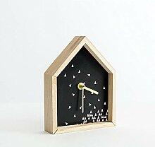 Olydmsky Standuhren analog,Uhr Schmuck Dekoration