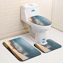 Olydmsky Tornado WC dreiteilige Set Boden Matte