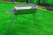 Olymp Mangal Edelstahl Grill Standgrill