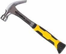 Olympia Tools 60-638 20 Oz Solid Steel Claw Hammer