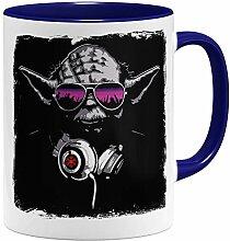 OM3® - DJ Yoda - Tasse | Keramik Becher | 11oz