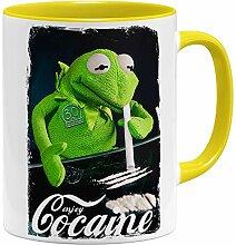 OM3® - Enjoy-Cocaine-Frog - Tasse | Keramik