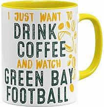 OM3® - Green-Bay-Coffee - Tasse | Keramik Becher