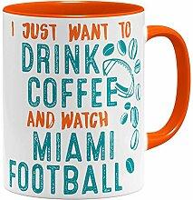 OM3® - Miami-Coffee - Tasse | Keramik Becher |