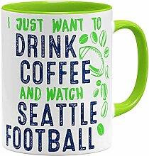 OM3® - Seattle-Coffee - Tasse | Keramik Becher |