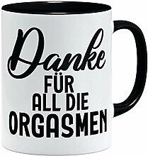 OM3® Danke für All die Orgasmen Tasse | Keramik