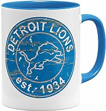 OM3® Detroit Badge Tasse | Keramik Becher | 11oz