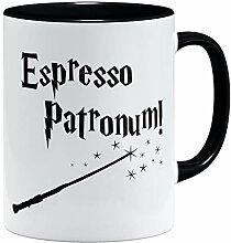 OM3® Espresso Patronum Tasse Zauberstab | Keramik