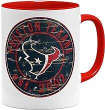 OM3® Houston Badge Tasse | Keramik Becher | 11oz