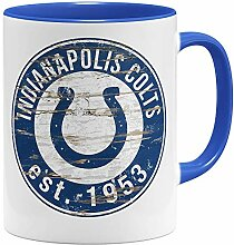 OM3® Indianapolis Badge Tasse | Keramik Becher |