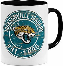 OM3® Jacksonville Badge Tasse | Keramik Becher |