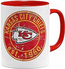 OM3® Kansas City Badge Tasse | Keramik Becher |