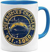 OM3® Los Angeles #1 Badge Tasse | Keramik Becher