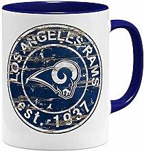 OM3® Los Angeles #2 Badge Tasse | Keramik Becher