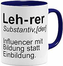 OM3® lustige Lehrer Tasse Influencer | Keramik