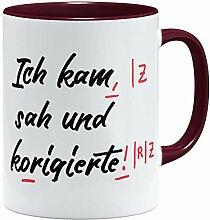 OM3® lustige Lehrer Tasse | Keramik Becher | 11oz