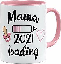 OM3® Mama Loading 2021 Tasse | Keramik Becher |