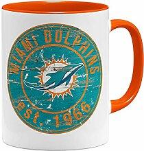 OM3® Miami Badge Tasse | Keramik Becher | 11oz