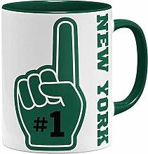 OM3 N.Y. Number One #1 New York - Tasse | Keramik