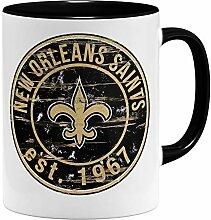OM3® New Orleans Badge Tasse | Keramik Becher |