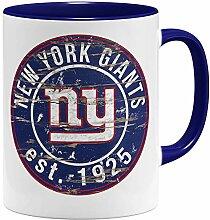 OM3® New York #1 Badge Tasse | Keramik Becher |