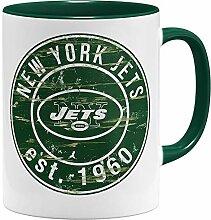 OM3® New York #2 Badge Tasse | Keramik Becher |