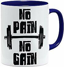 OM3® No Pain No Gain Tasse | Keramik Becher |