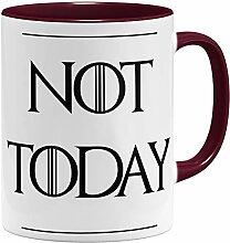 OM3® Not Today Tasse | Keramik Becher | 11oz