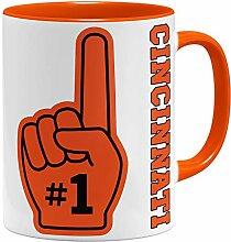 OM3 Number One #1 Cincinnati - Tasse | Keramik