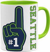 OM3 Number One #1 Seattle - Tasse | Keramik Becher