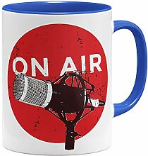 OM3® ON-AIR Microphone Tasse | Keramik Becher |