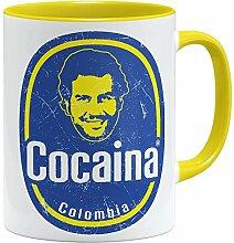 OM3® Pablo-Cocaina Tasse | Keramik Becher | 11oz