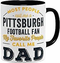 OM3® Pittsburgh-Fan Tasse | Keramik Becher |