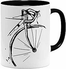 OM3® Retro Fahrrad Radler Bike Rad Tasse |